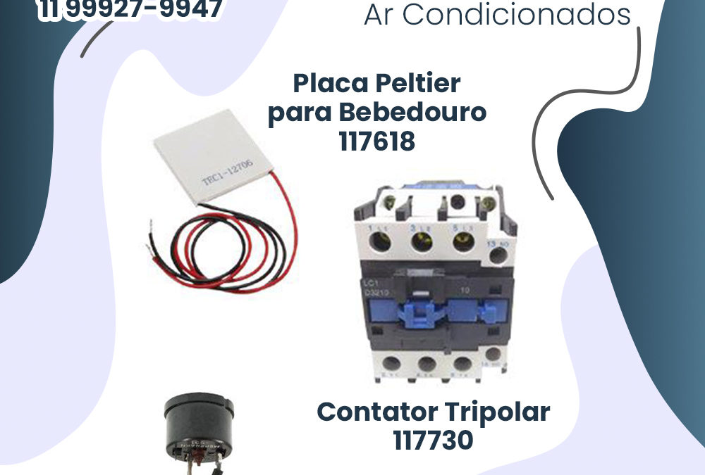 Componentes elétricos para Ar Condicionado